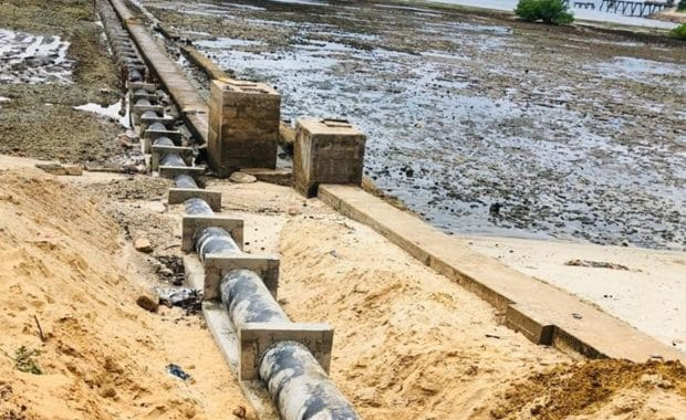 Relocation of Existing Concrete Sea Outfall