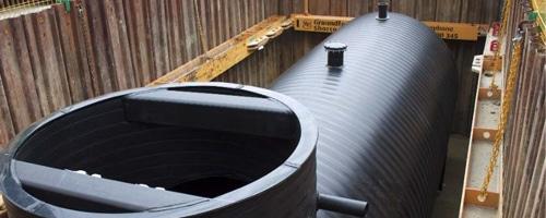 weholite wastewater tank