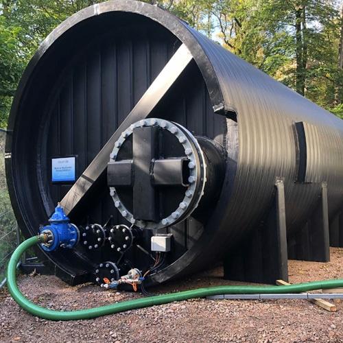 weholite potable water tank